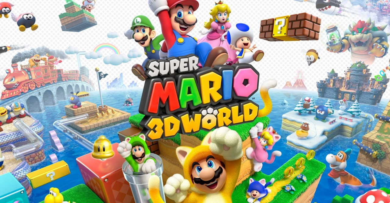 SUPER MARIO 3D WORLD + BOWSER'S FURY disponibile da oggi