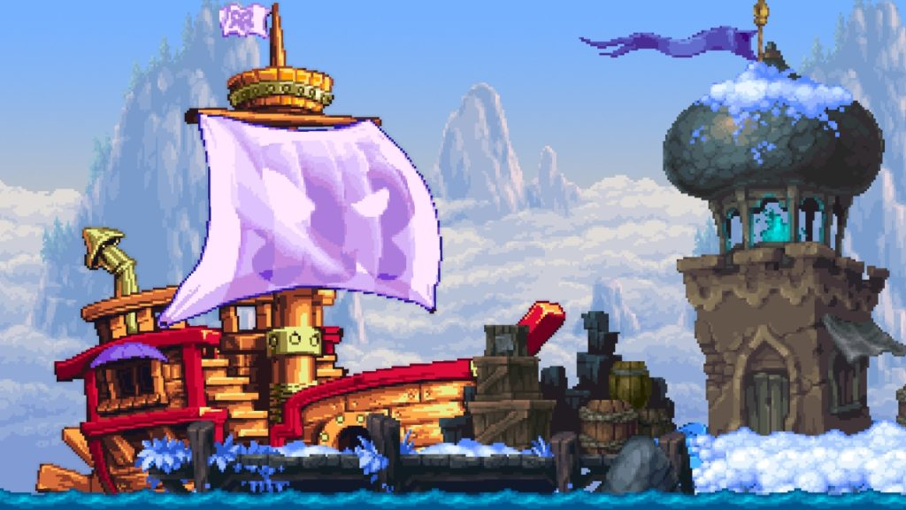 Shantae and the Pirate's Curse gameplay