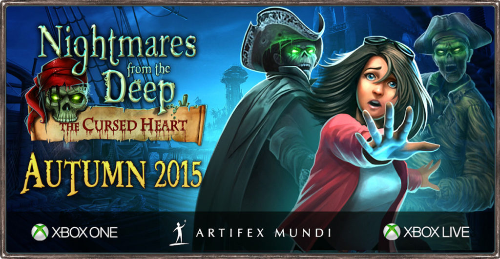 Nightmares from Deep The Cursed Heart logo