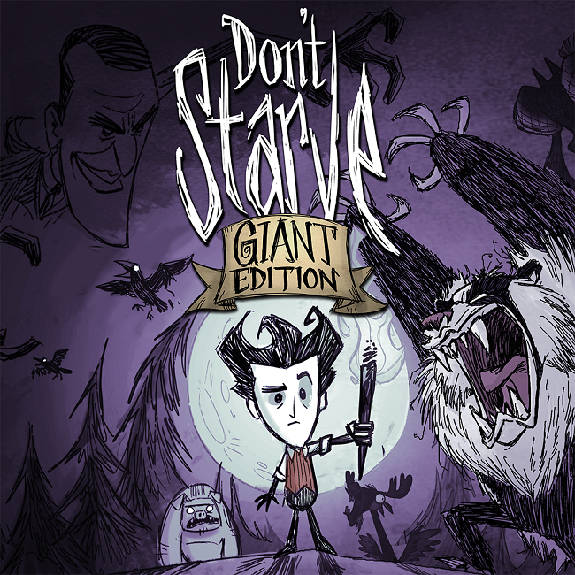Don't Starve Giant Edition logo