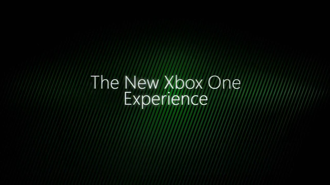 new Xbox Experience