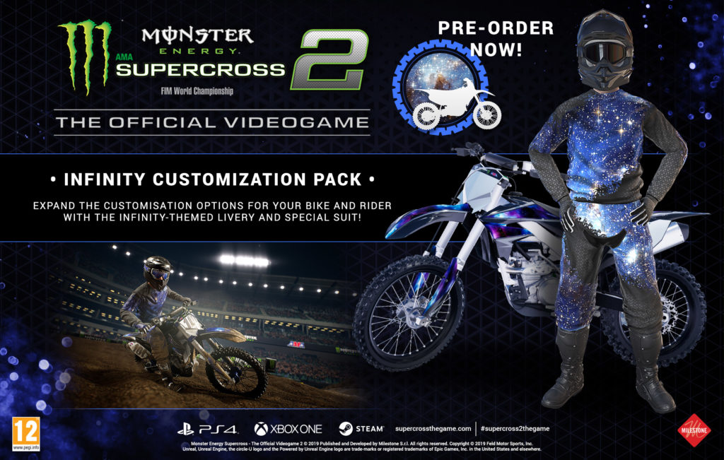 Monster Energy Supercross 2: Il primo Gameplay Trailer uffic