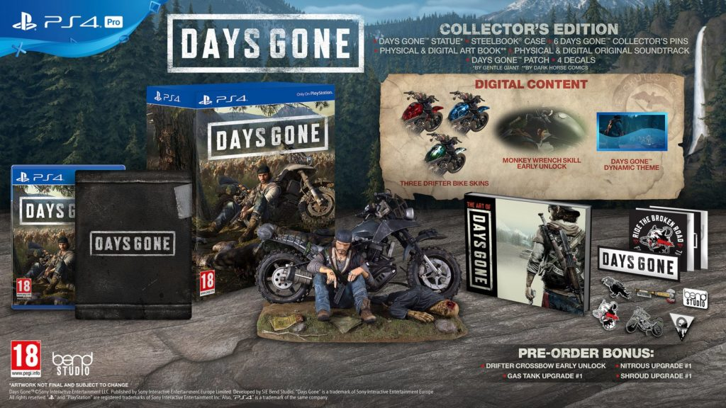Day's Gone: Annunciati Collector's e Special Edition con Bon