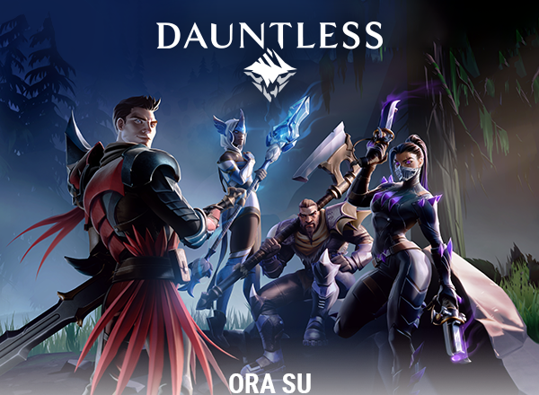 Dauntless disponibile da oggi su console