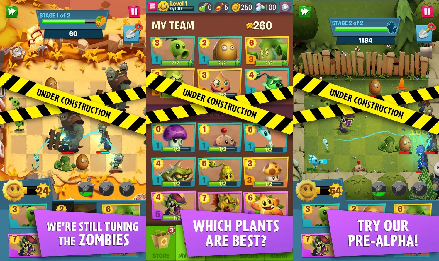 EA annuncia PLANTS VS ZOMBIES 3 per Android