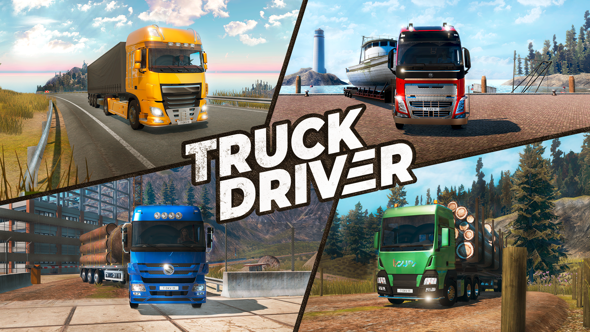 "Truck Driver porta il DLC ""French Paint Jobs"" su PlayStation 4 e Xbox One"