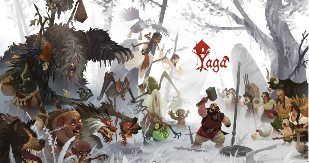 Yaga disponibile da oggi su PC e Console