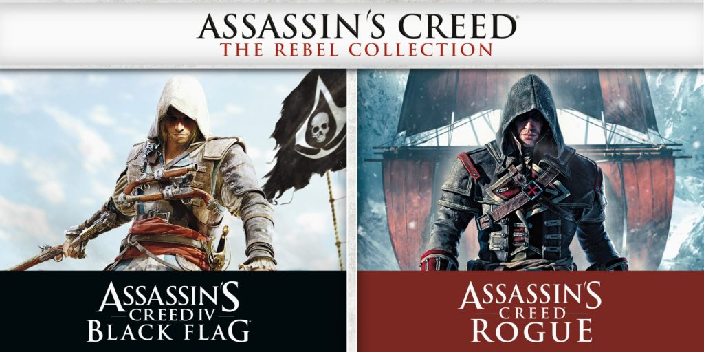 ASSASSIN'S CREED® THE REBEL COLLECTION disponibile per Ninte