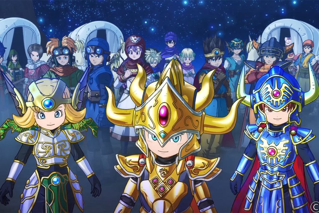 DRAGON QUEST OF THE STARS disponibile da oggi su Mobile