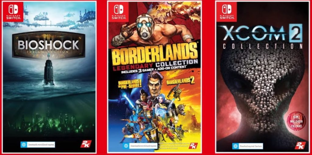 BioShock: The Collection, XCOM 2 Collection e Borderlands Le