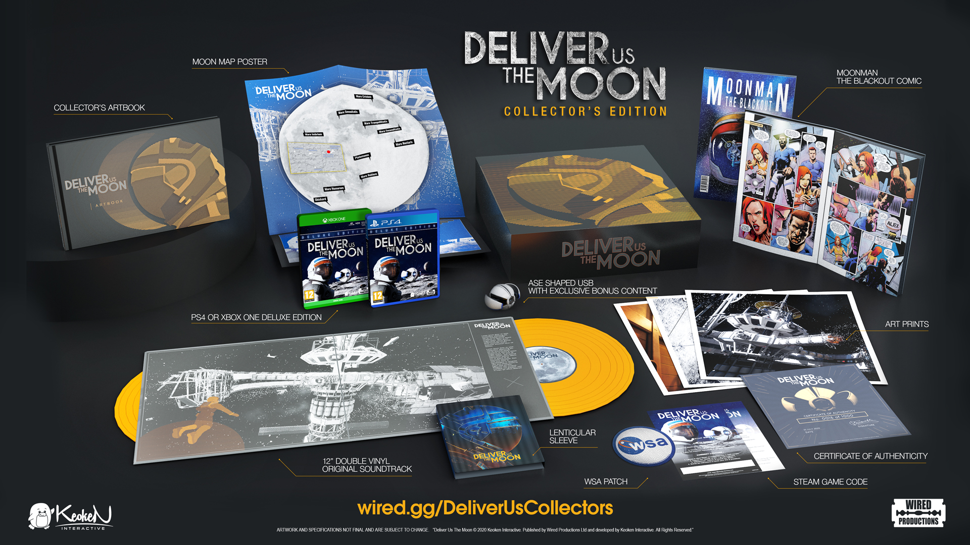 Deliver Us The Moon Collector's Edition atterra su Wired Store nel 2020