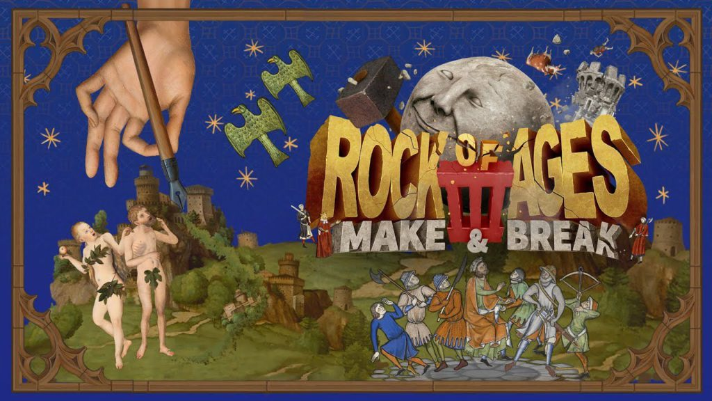 ROCK OF AGES 3 arriva oggi su Google Stadia