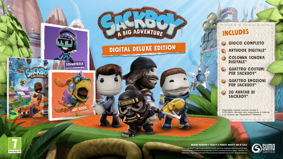 Sackboy A Big Adventure: Svelate le Special e Digital Deluxe Edition