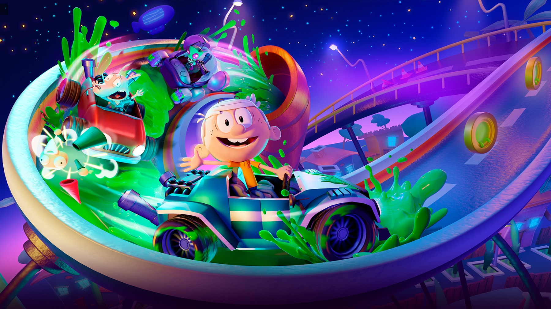 Nickelodeon Kart Racers 2: Grand Prix è disponibile per PlayStation 4, Xbox One e Nintendo Switch