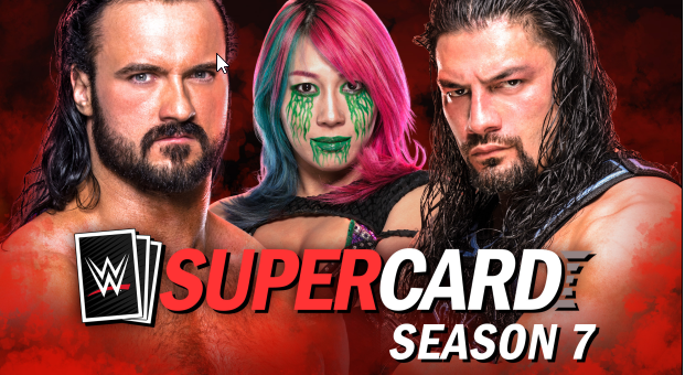 WWE SuperCard Season 7 in arrivo per iOS, dispositivi Android e Facebook Gaming