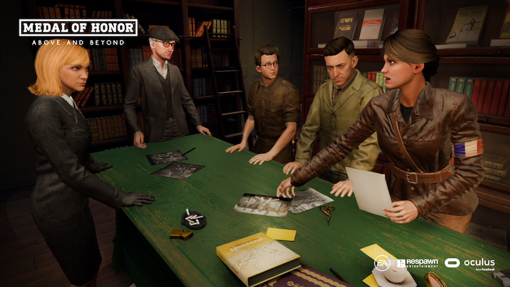 "Medal of Honor: Above and Beyond celebra i veterani  in ""The Gallery"""