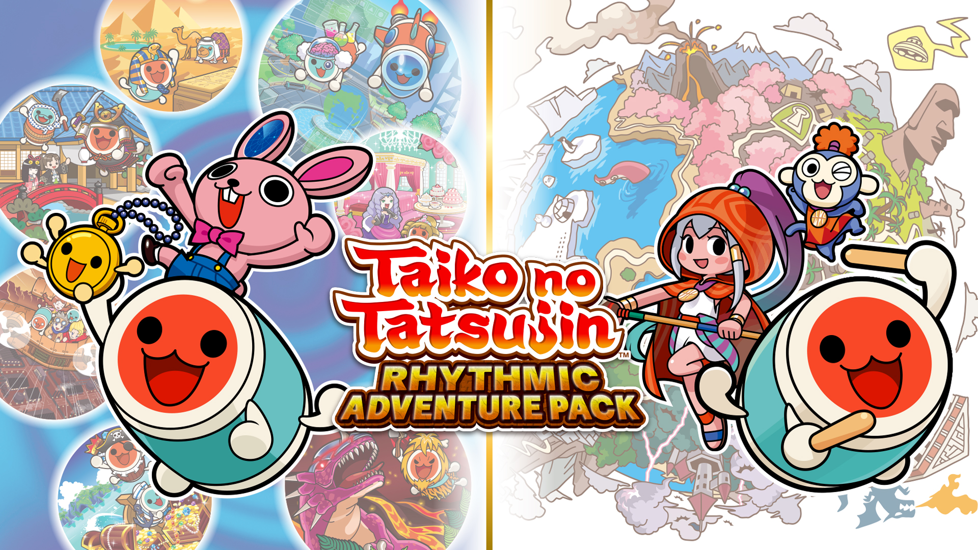TAIKO NO TATSUJIN RHYTHM ADVENTURE 1 e 2: La Storia in nuovi Trailer
