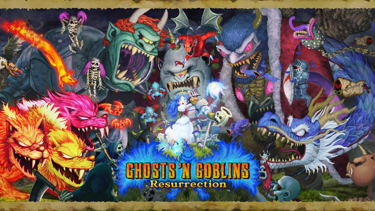 Ghost 'n Goblins Resurrection e Capcom Arcade Stadium su Switch dal 2021