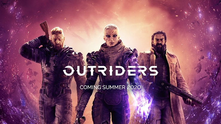 OUTRIDERS è disponibile da oggi