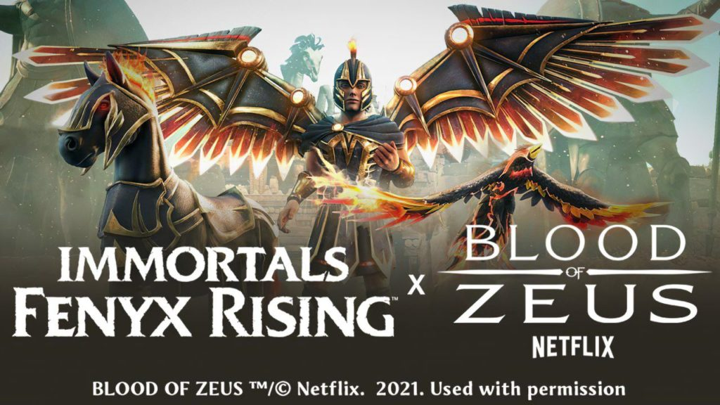 Immortals Fenyx Rising: Disponibile l'evento crossover Blood of Zeus