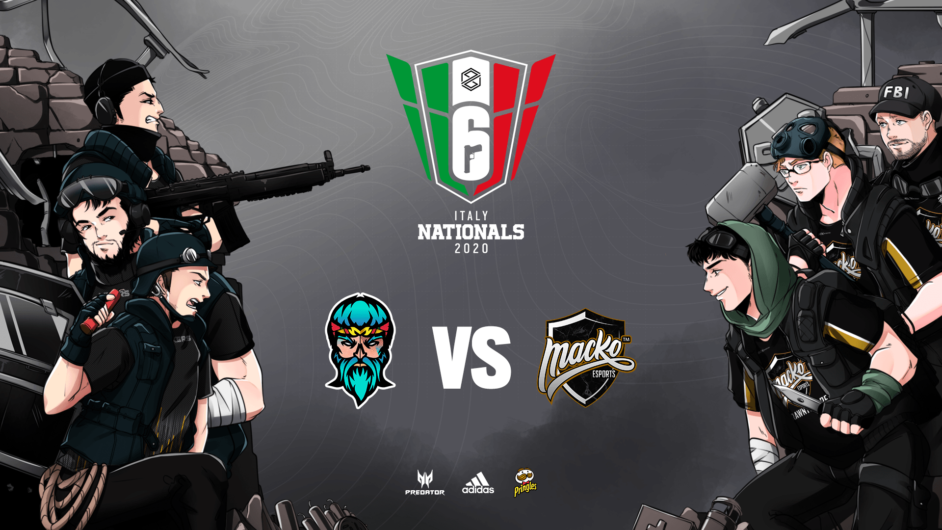 Rainbow Six Siege PG Nationals: Ecco quando si terrà la finalissima del Winter Split 2020