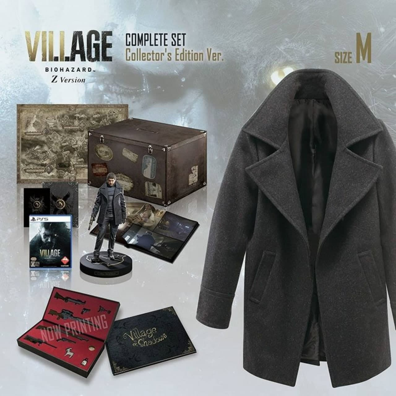 Resident Evil Village: La Collector's Edition col cappotto di Chris Redfield