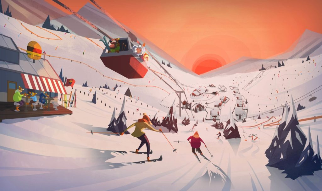 Snowtopia disponibile da oggi in Accesso Anticipato su Steam