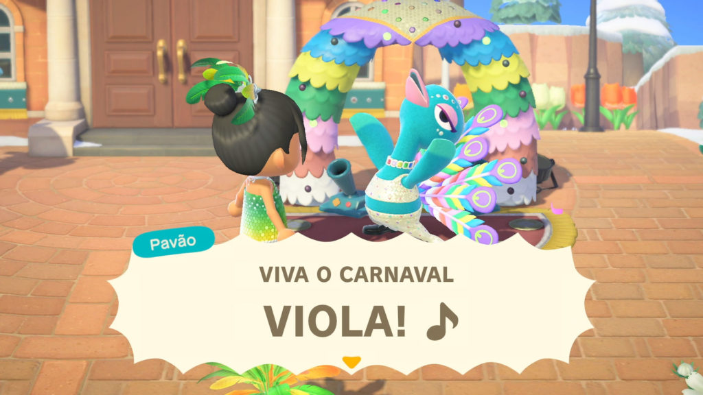 Animal Crossing New Horizons si prepara al Carnevale