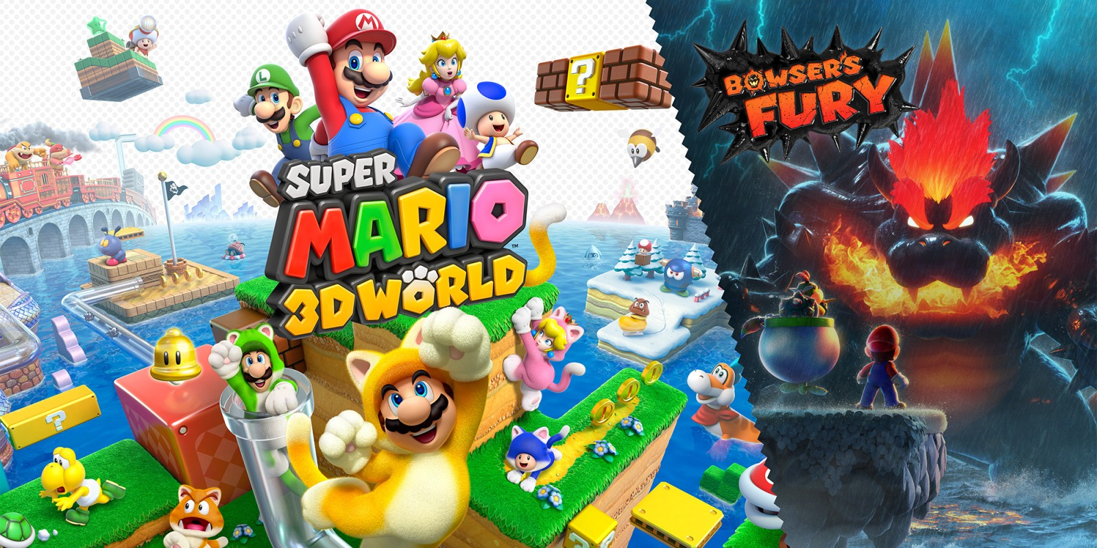 Super Mario 3D World + Bowser's Fury: Recensione, Gameplay Trailer e Screenshot