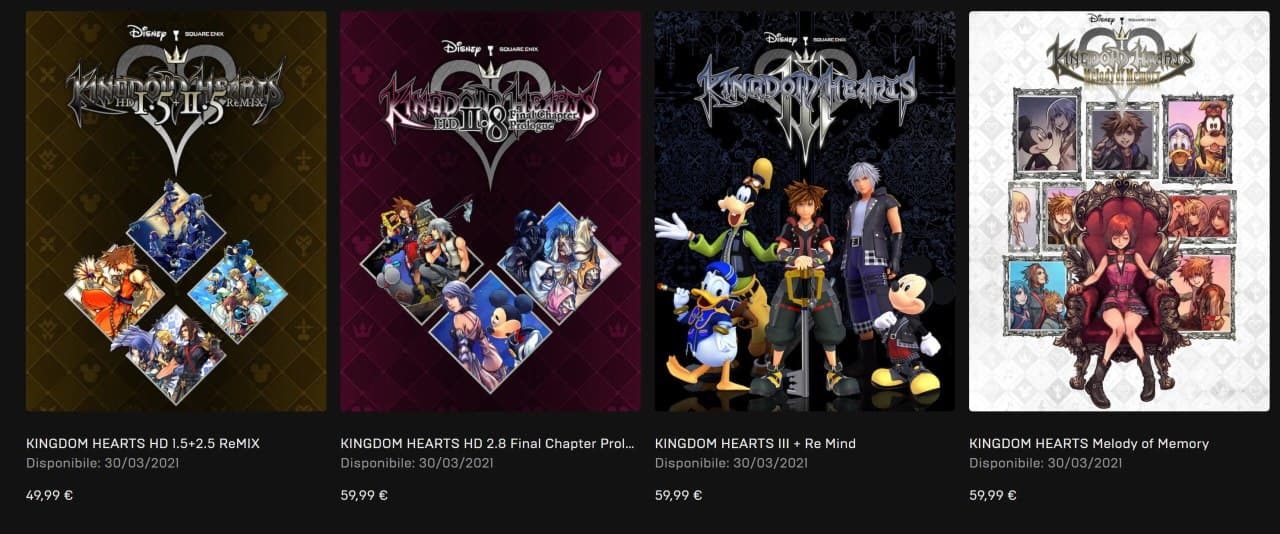 Kingdom Hearts su PC: I Requisiti ufficiali