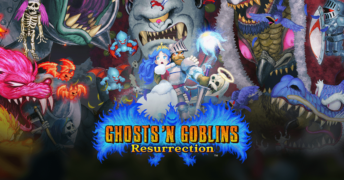 GHOSTS 'N GOBLINS RESURRECTION disponibile da oggi