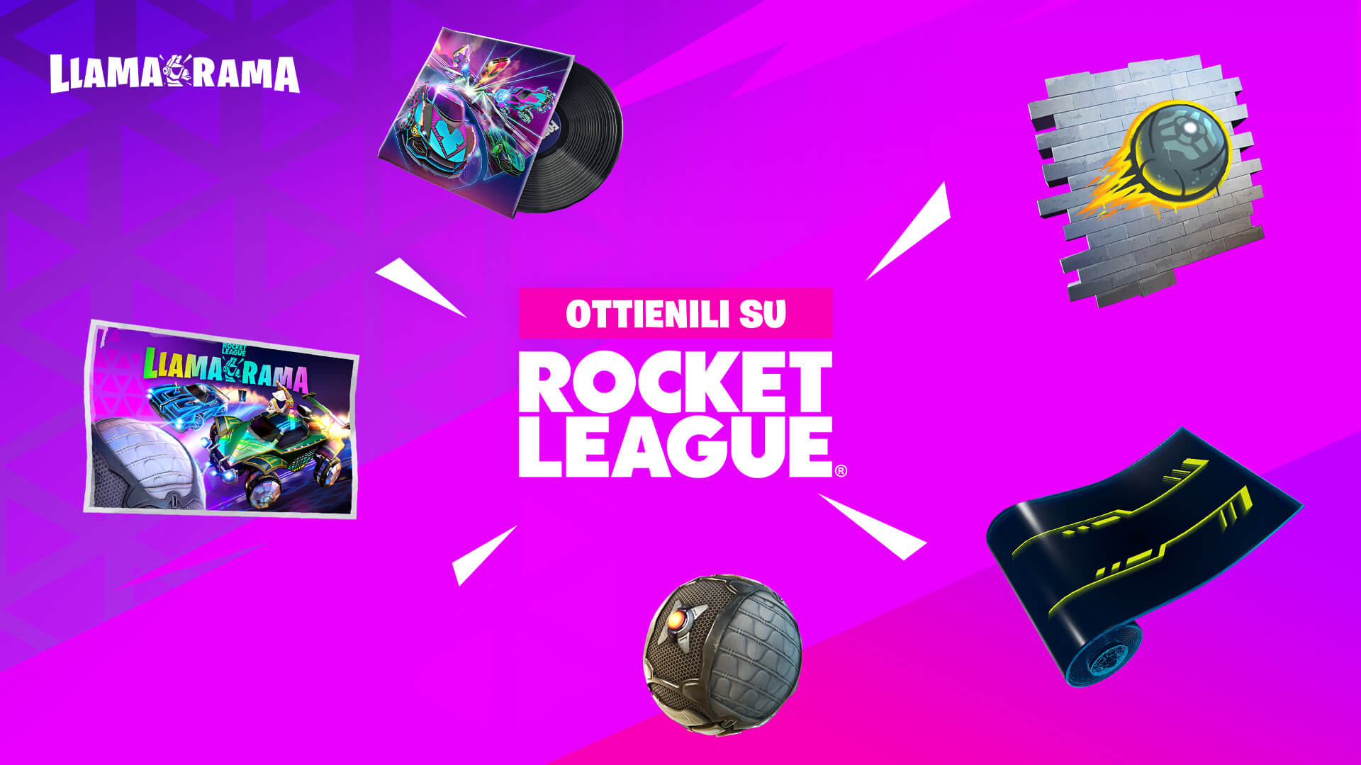 Fortnite X Rocket League: Annunciata una nuova collaborazione