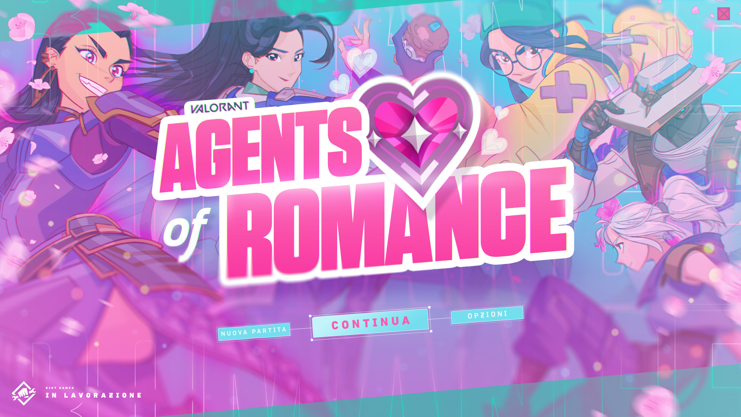 Riot Games annuncia Valorant: Agents of Romance