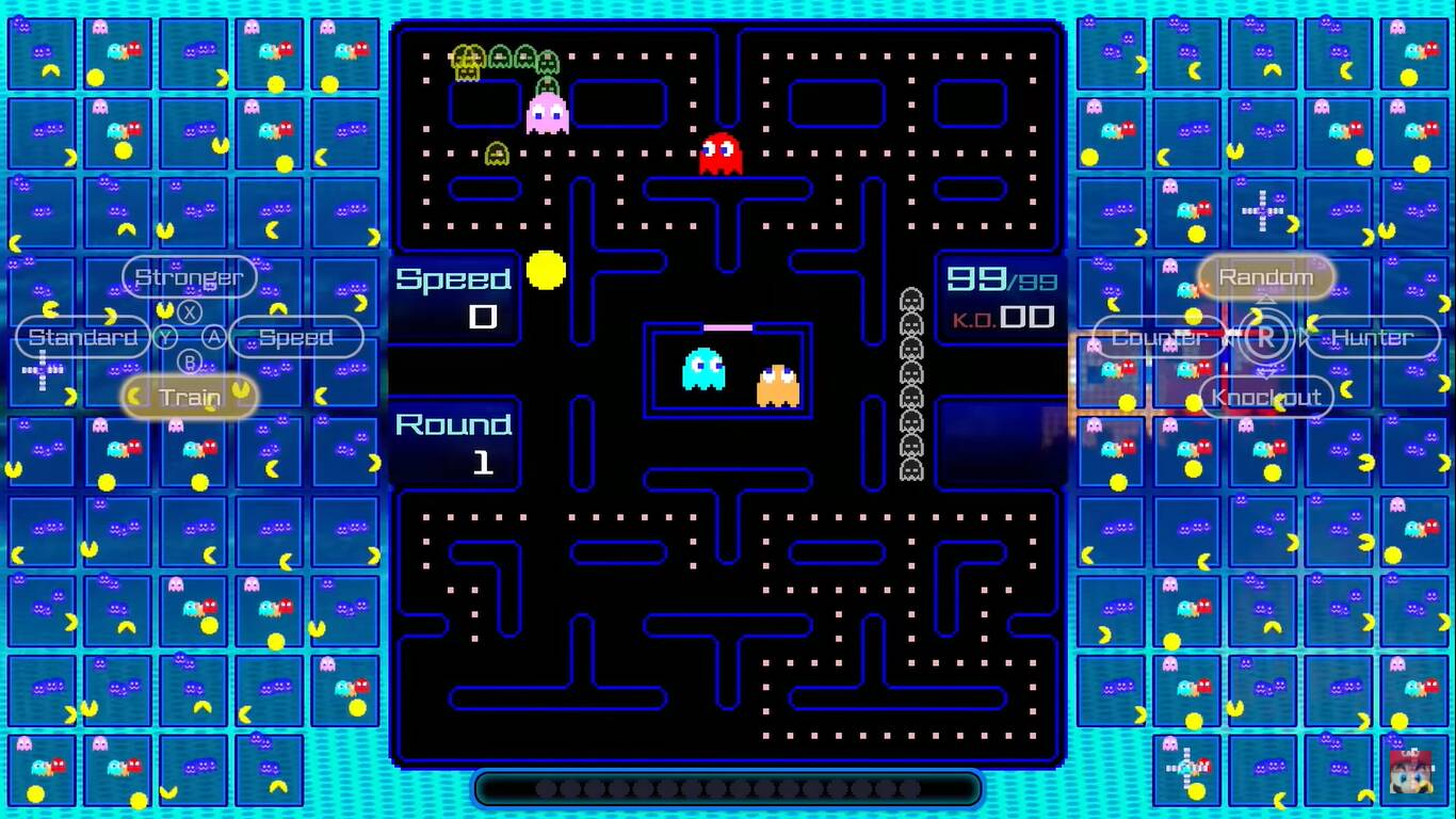 PAC-MAN 99 è disponibile da oggi su Nintendo Switch