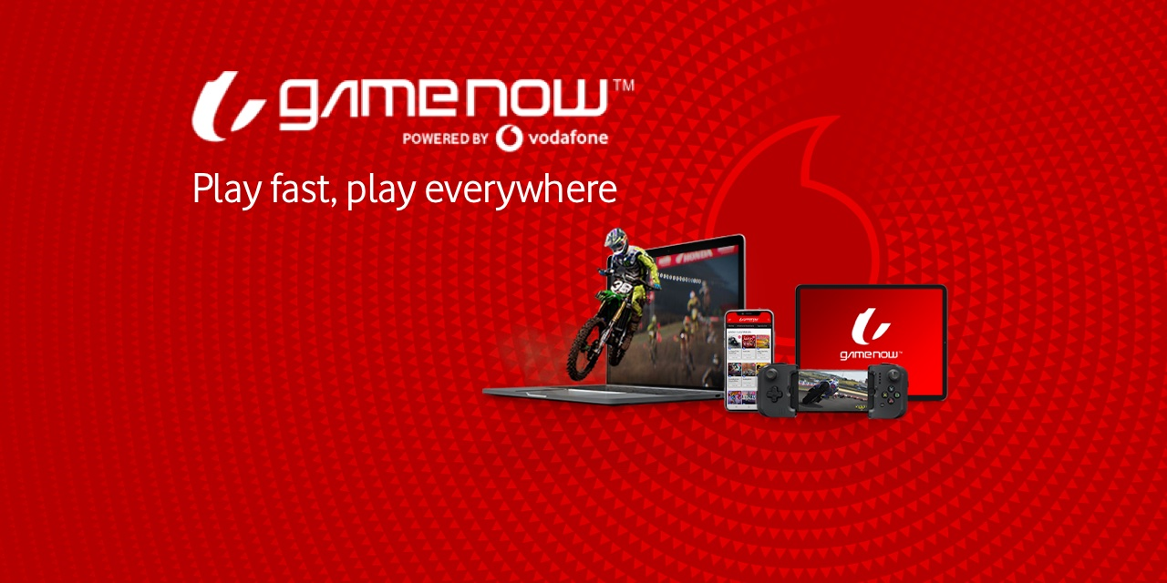 VODAFONE lancia GAMENOWTM: La nuova piattaforma Cloud Gaming in 5G