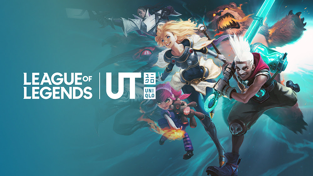 LEAGUE OF LEGENDS: Riot Games annuncia una collaborazione con UNIQLO