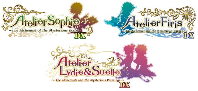 Atelier Mysterious Trilogy Deluxe disponibile da oggi