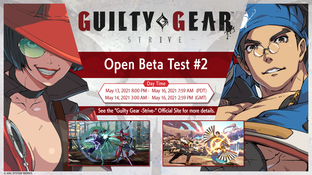 Guilty Gear Strive: Date e contenuti della seconda Open Beta