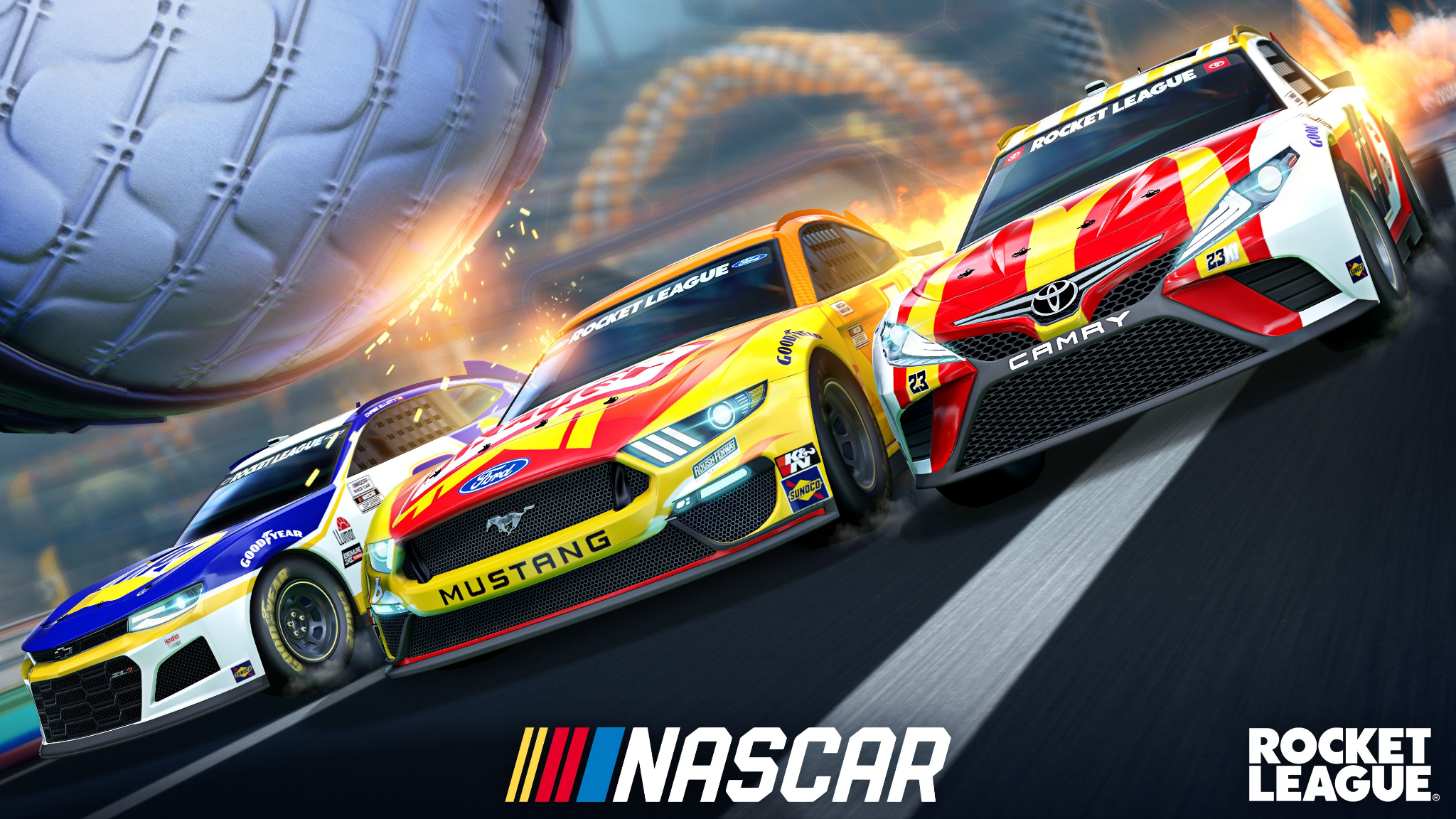 Rocket League: Annunciato il NASCAR FAN PACK 2021