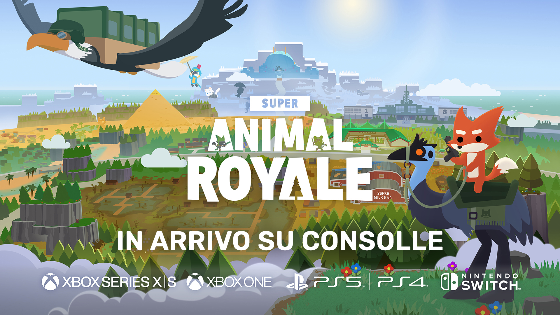 Super Animal Royale in arrivo su console