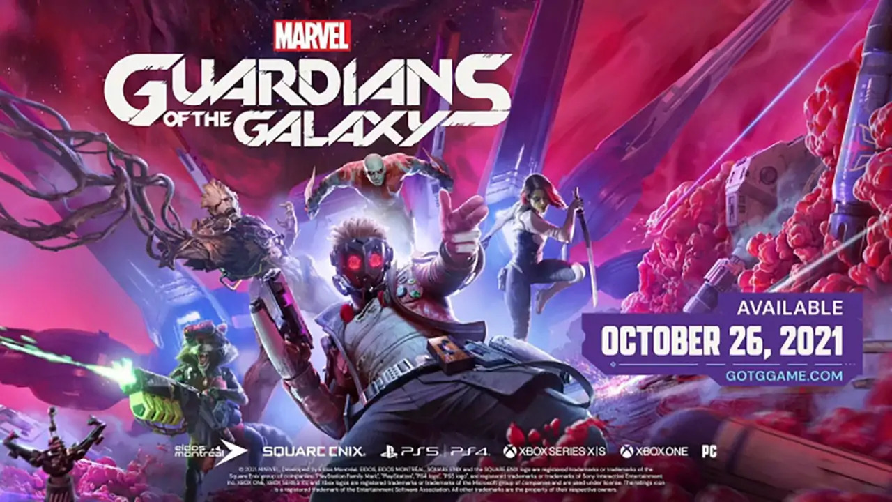 Square Enix annuncia Marvel's Guardian of the Galaxy